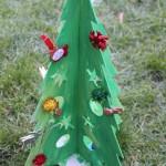 Cardboard Christmas Tree 4